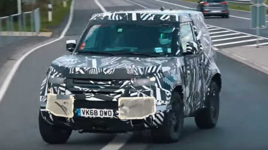2020 Land Rover Defender caught making final 'Ring rounds