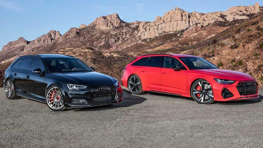 Dünyada tek Audi S4 Allroad ile yeni RS6 Avant'ı bir arada görün