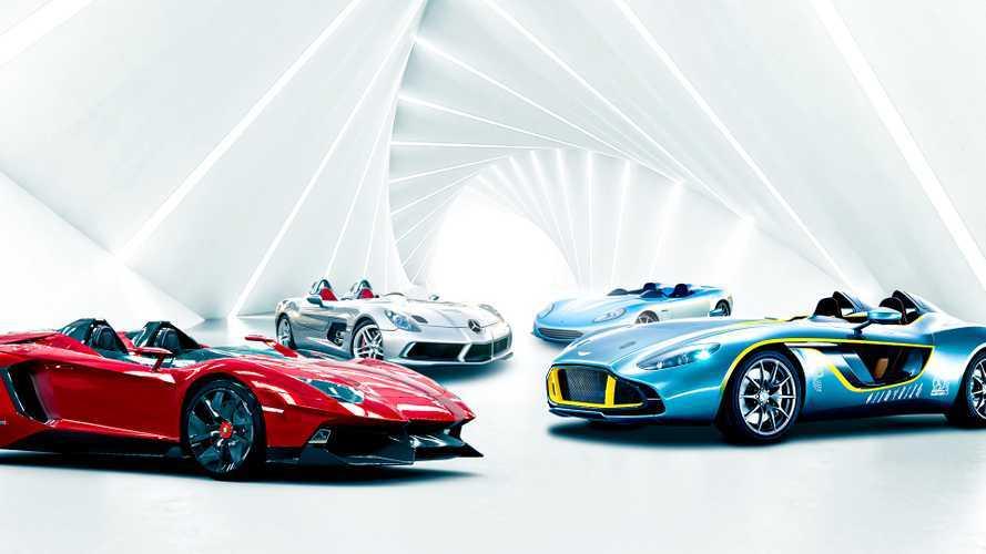 Speedsters - La mode des supercars sans pare-brise !