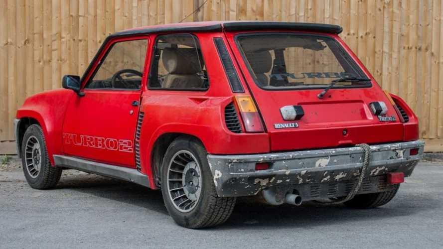 ¿Cuánto pagarías por este Renault 5 Turbo 2 Evolution destrozado?