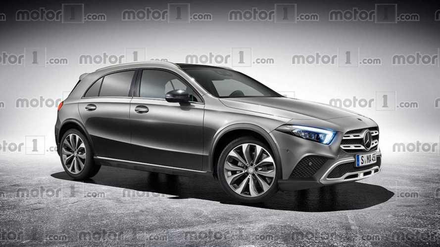 Mercedes GLA:-Neue Version soll zehn Zentimeter höher werden