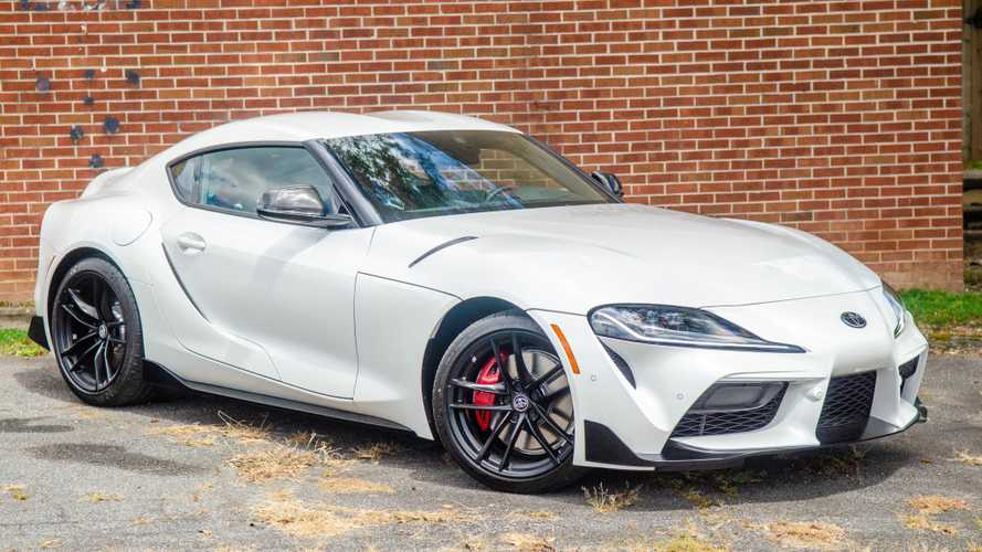Toyota Supra Launch Edition Barely Brings MSRP On BaT, Doesn't Sell