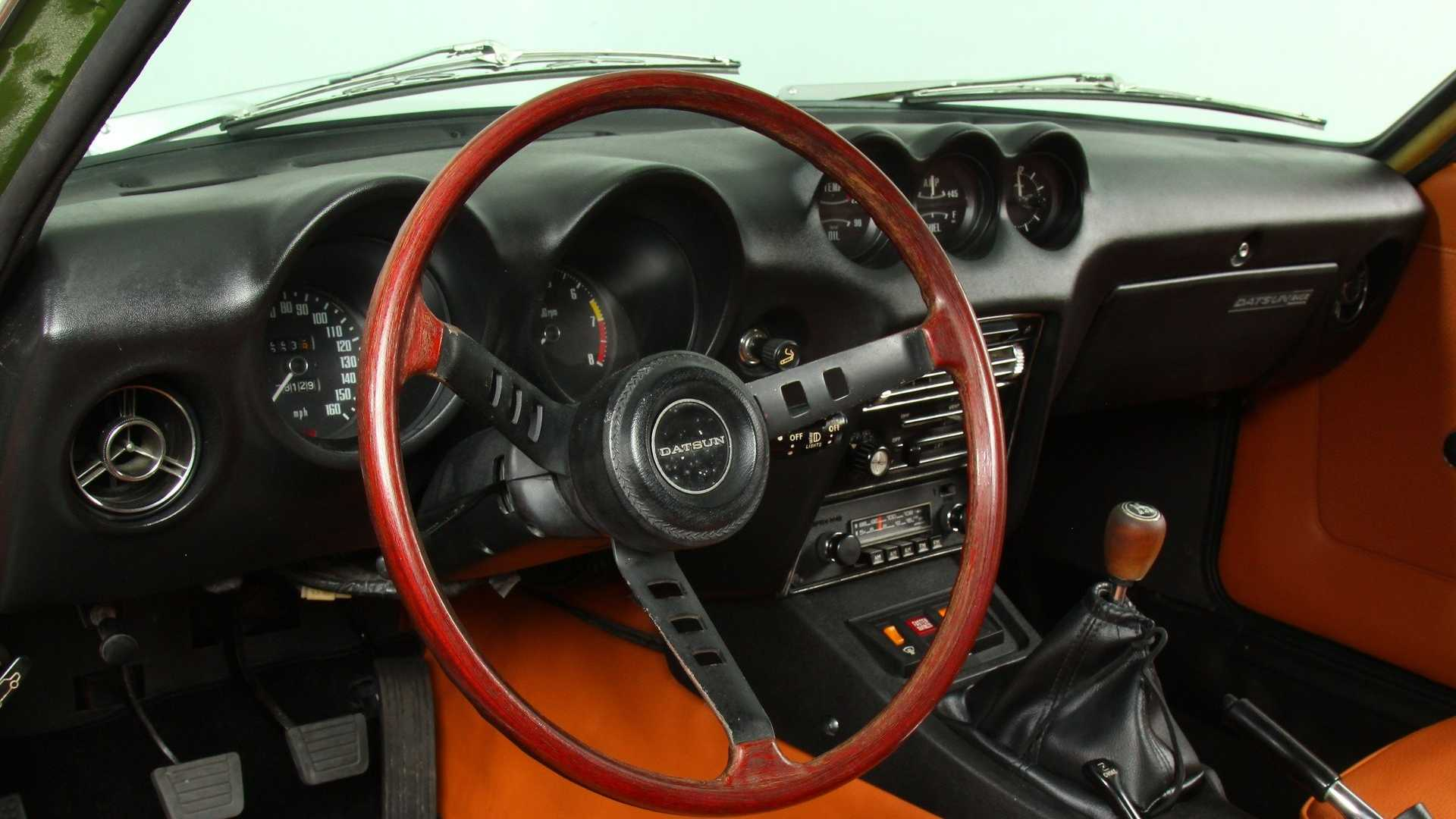 """[""""Drive Some Japanese Goodness With This 1972 Datsun 240Z""""]"""