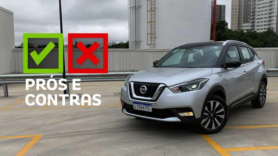 Nissan Kicks SL 2020: Prós e Contras