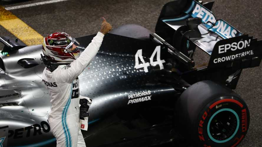 Hamilton remporte la dernière course de l'année à Abu Dhabi