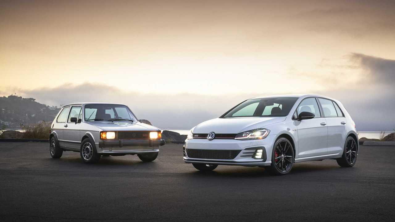 Evolution of the Volkswagen GTI