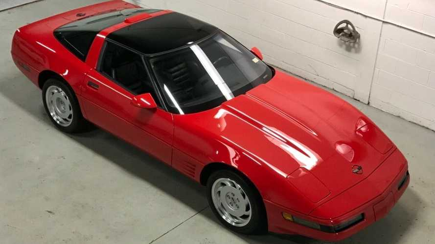Never-Titled 1991 Chevrolet Corvette ZR-1 Sold For $40K