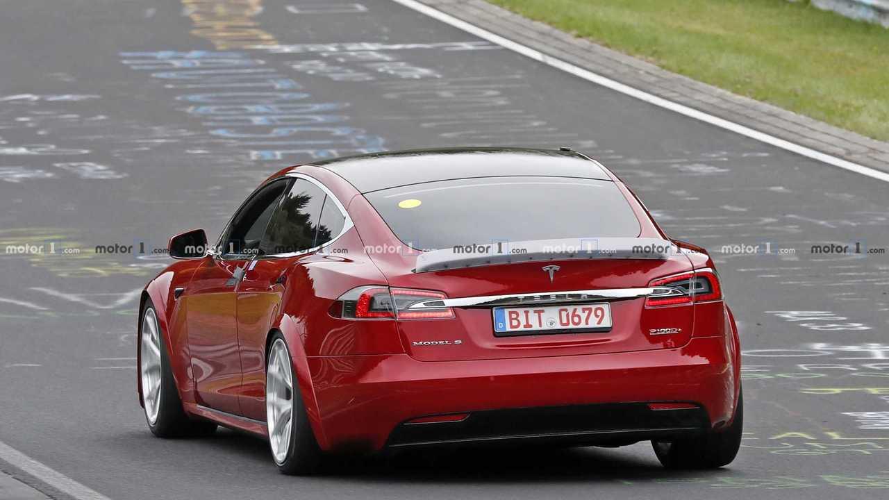 Tesla Model S - Nürburgring