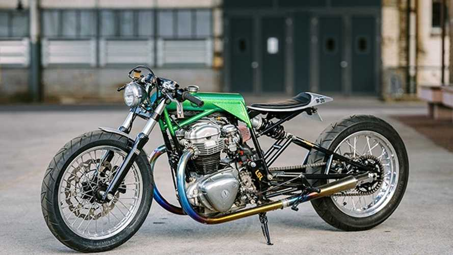 This Custom Drag Bike Doesn't Look Like A W800 Anymore