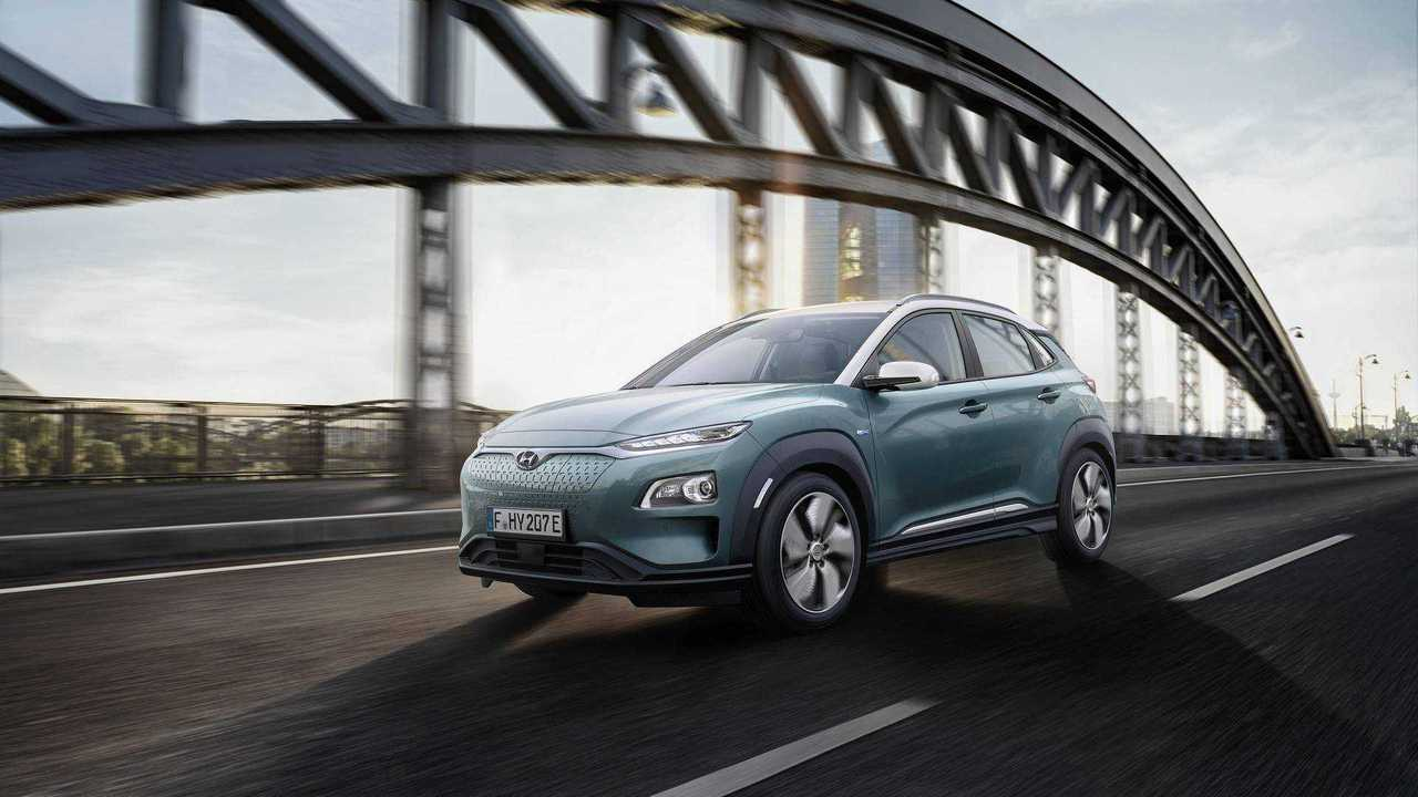 Best EVs - 4th - Hyundai Kona Electric 39 kWh