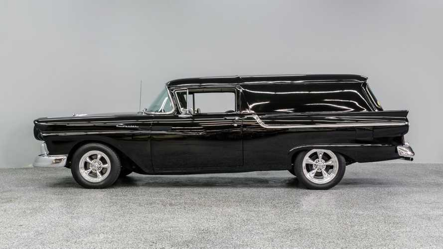 Turn This 1957 Ford Courier Into A Hellacious Hearse