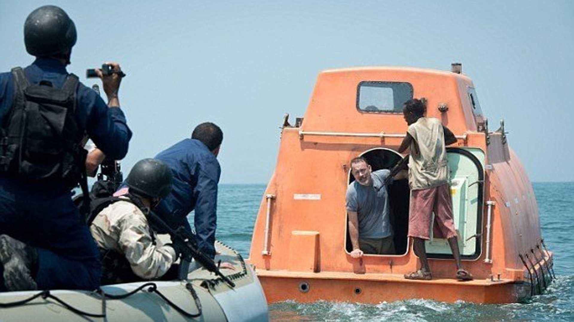 """[""""Dress Up As The Ultimate Pirate Captain In This 'Captain Phillips' Life Boat""""]"""