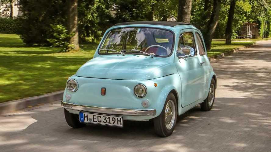 Zeitreise im alten Fiat 500