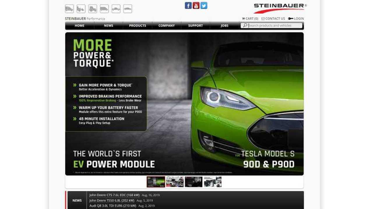 Steinbauer Develops The First Power Enhancement Module for Tesla