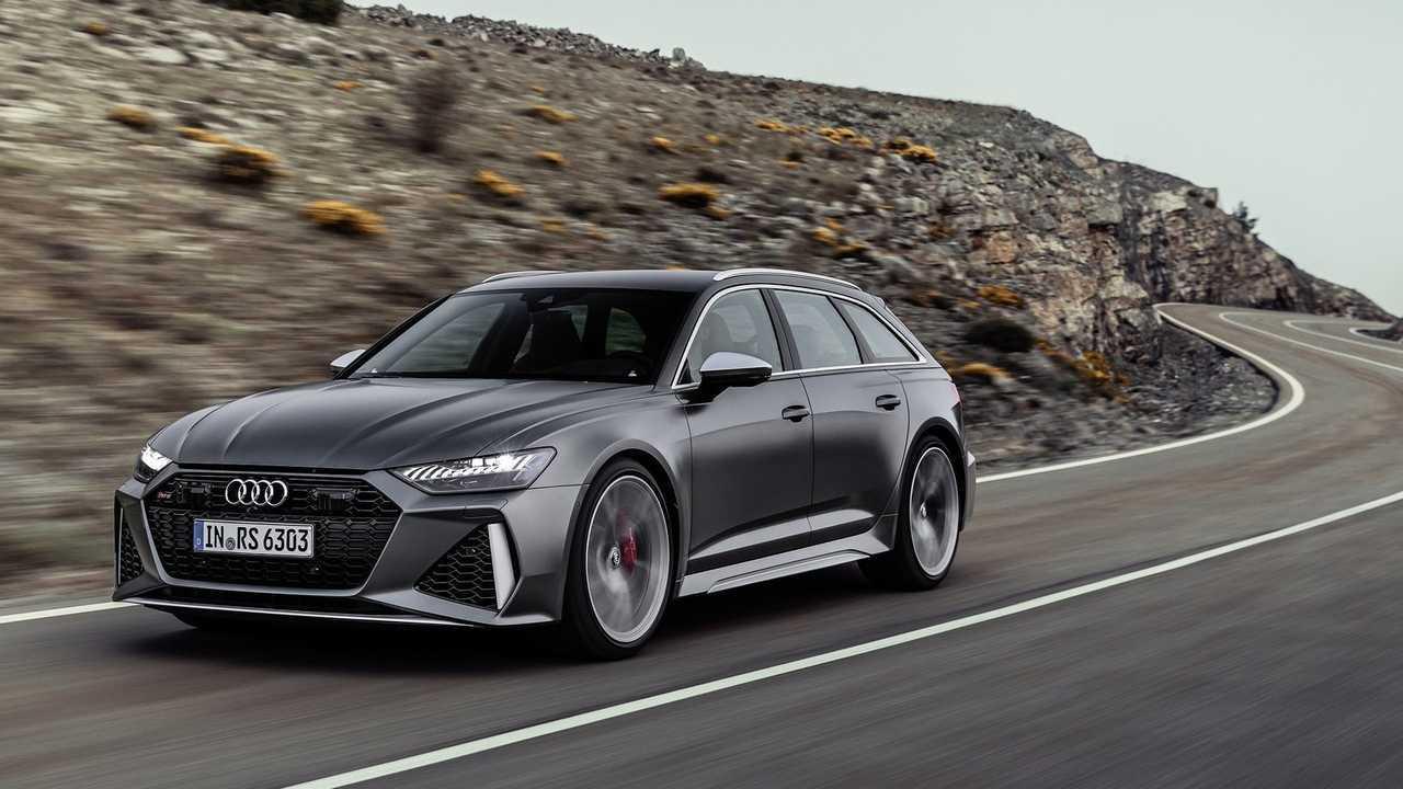Audi RS 6 Avant (C8) - 2019