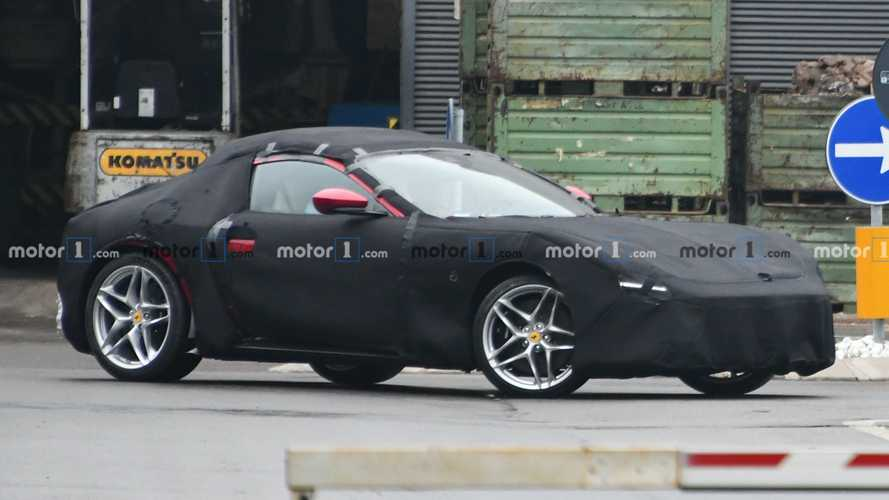 Ferrari Portofino coupe spied by Motor1.com reader