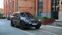 BMW X7 на тесте «Ребенок в машине»
