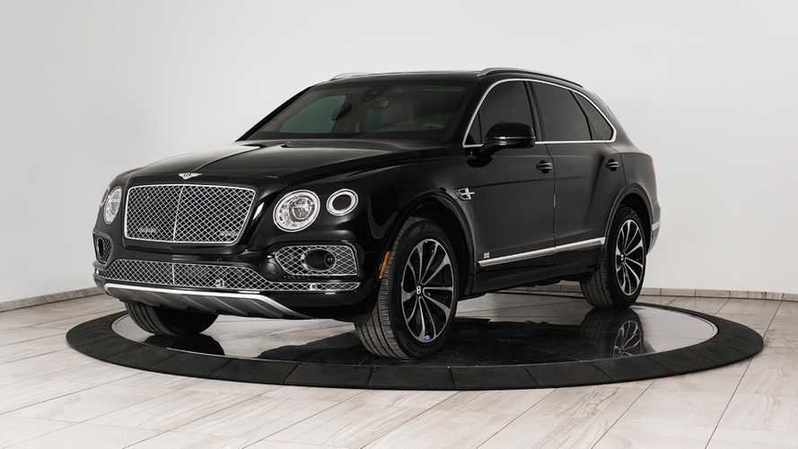 Armoured Bentley Bentayga by Inkas