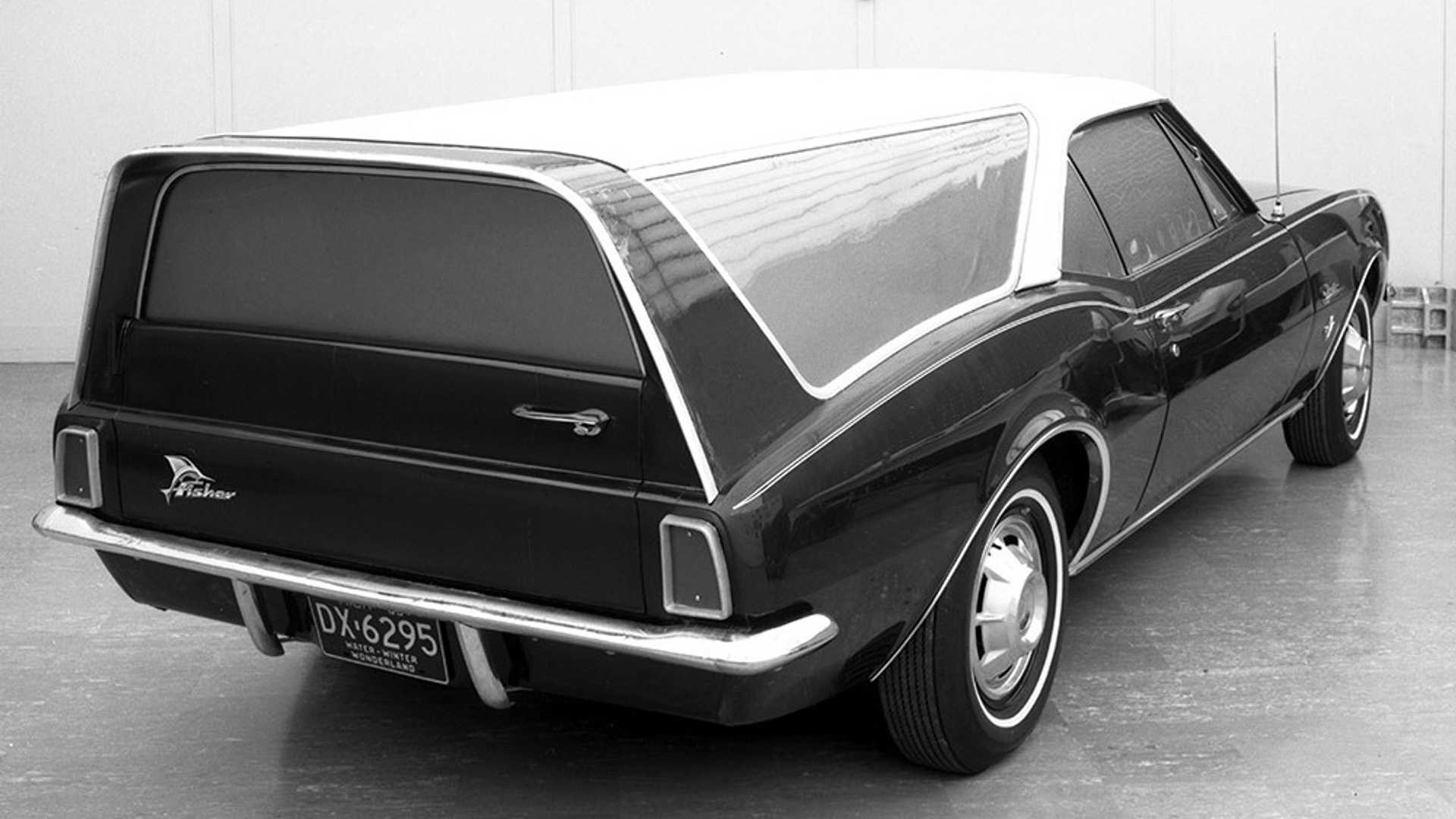 Vintage Camaro Wagon Photo Makes Us Want What Could Have Been