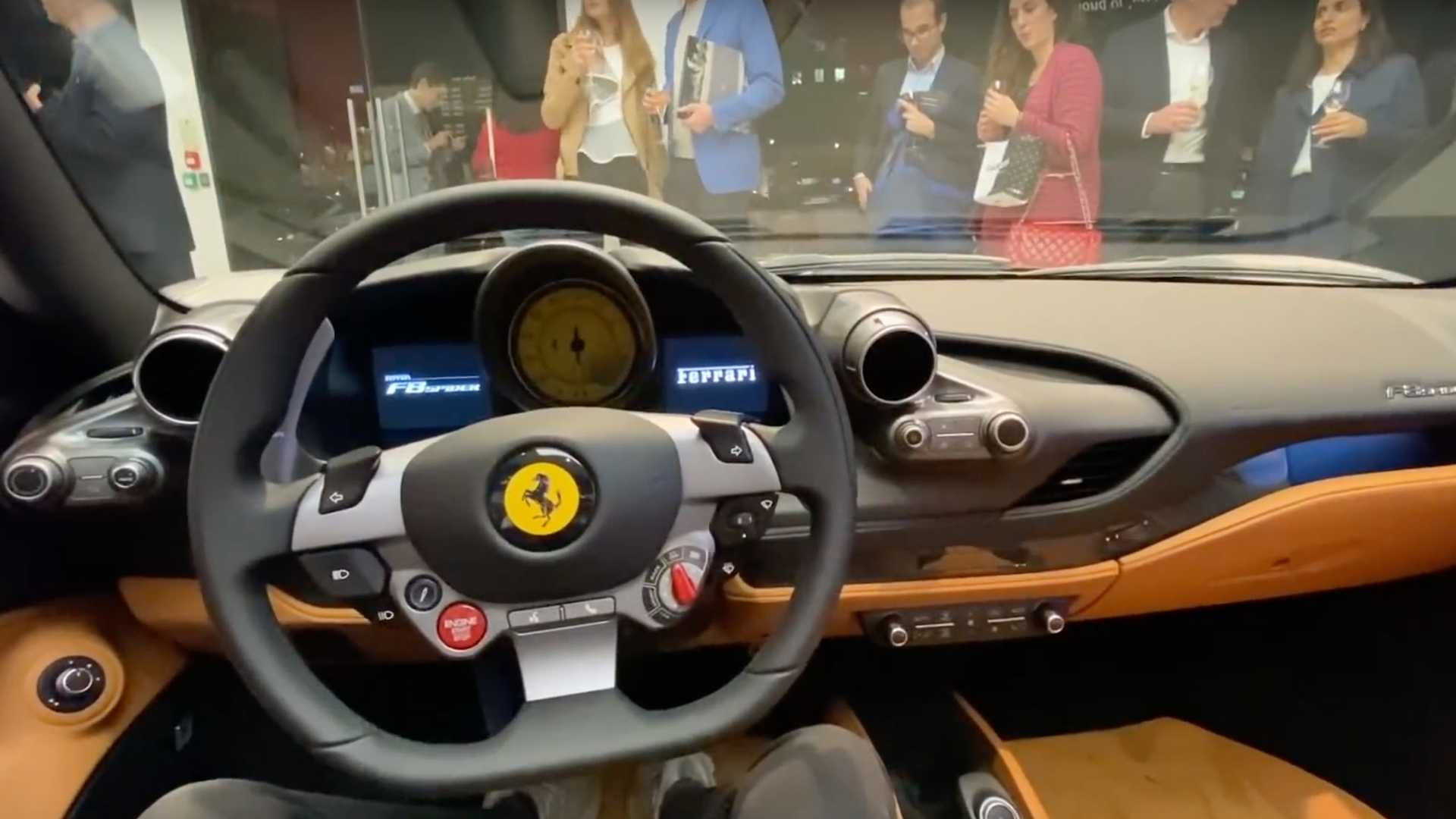 Ferrari F8 Spider Looks Right At Home At High End London Dealer