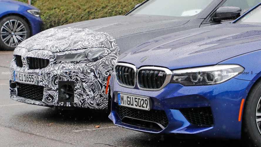 BMW M5 Refresh Spy Shots