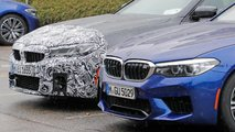 BMW M5 Refresh Spy Shots