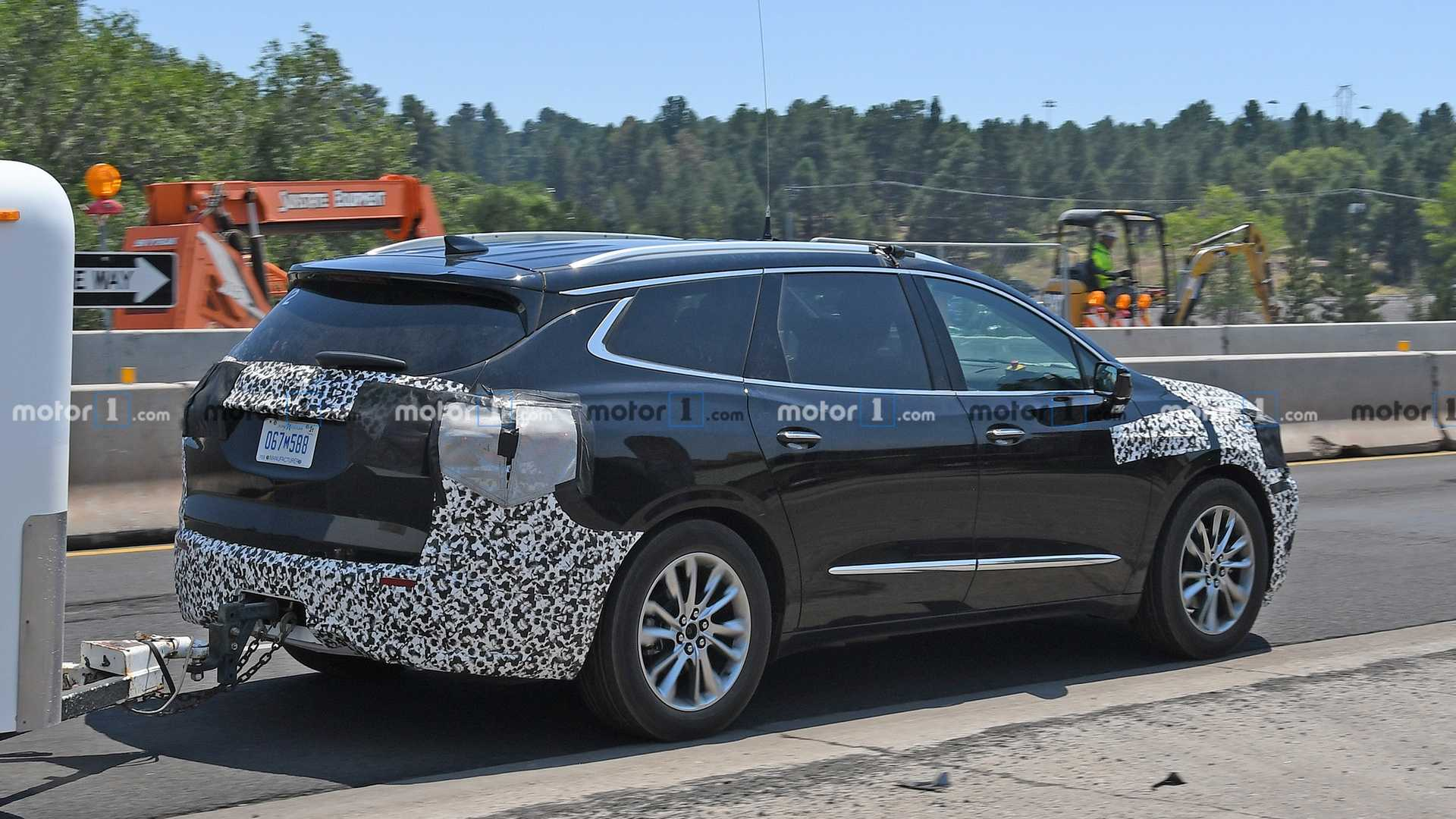 2021 Buick Enclave Spy Photos Redesign and Concept