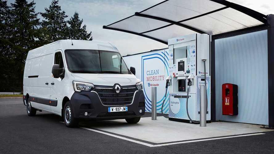 Renault présente ses utilitaires à hydrogène