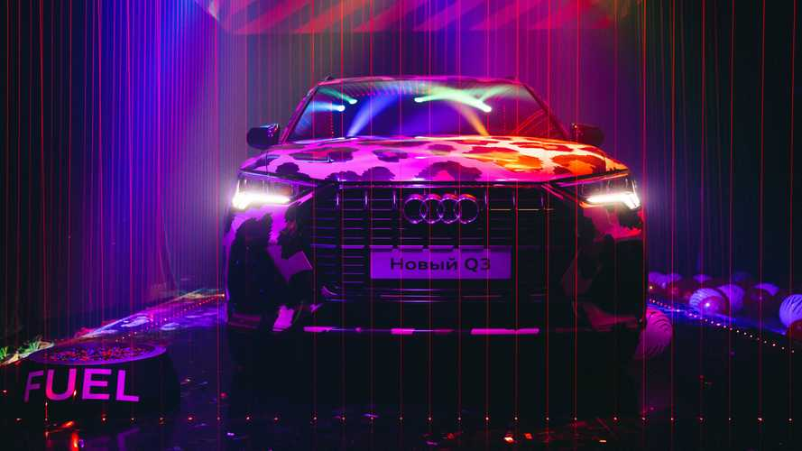 Смотрите осторожно: безумные фото с премьеры Audi Q3 в РФ