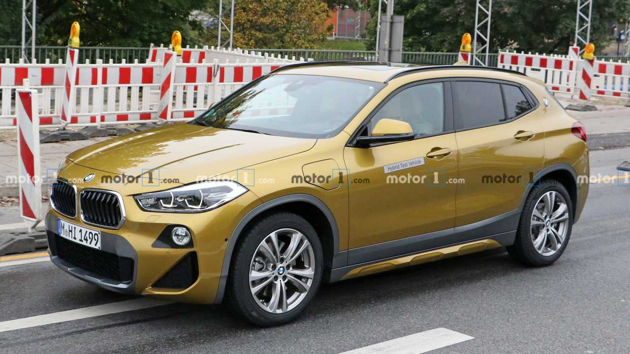 BMW X2 PHEV Spy Photos
