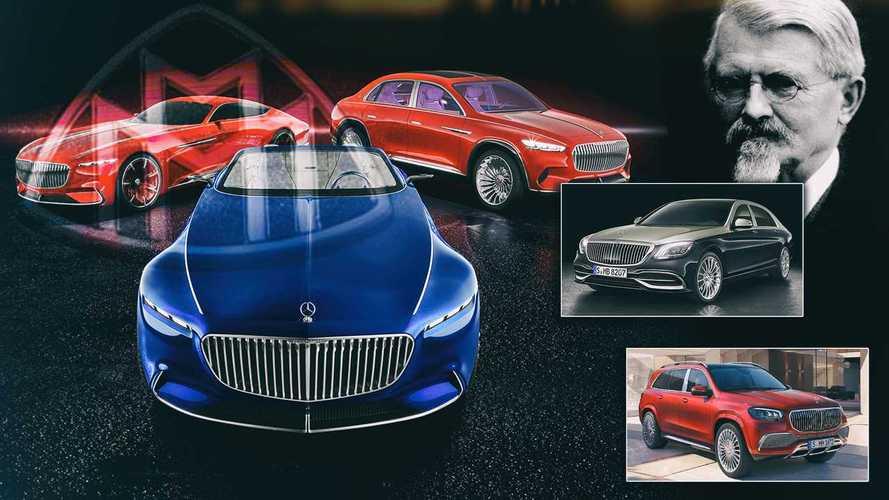 Alle Modelle von Mercedes-Maybach im Überblick