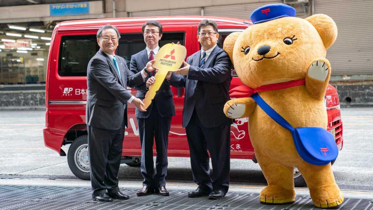 Mitsubishi Minicab MiEV for Japan Post