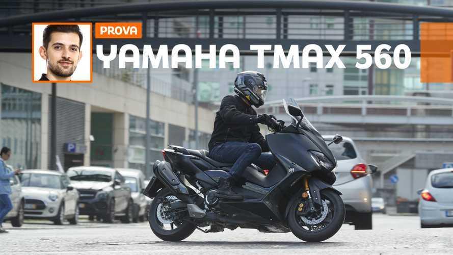 Yamaha TMAX 560 2020 - TEST