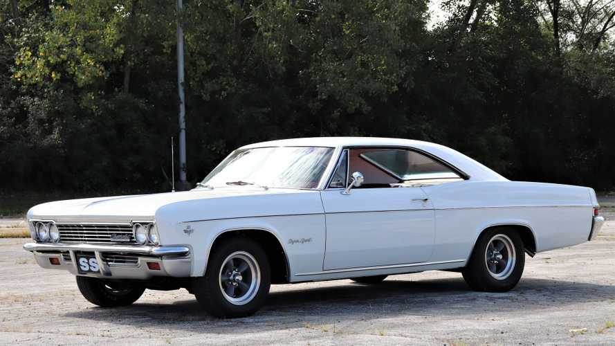 Collector's Well-Kept 1966 Chevy Impala SS Up For Grabs