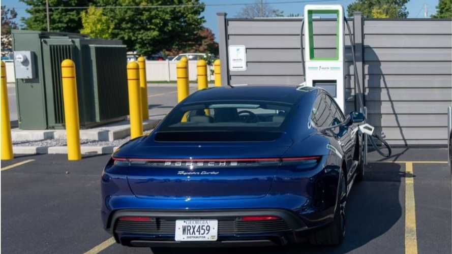 Electrify America Charges Porsche Taycan: First Ever 800V At 270 kW
