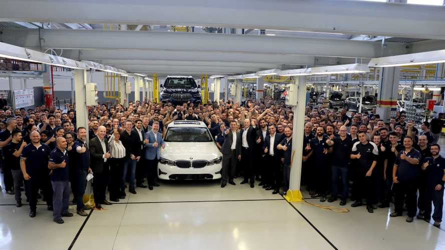 Fábrica da BMW em Araquari comemora 5 anos com a produção do novo Série 3