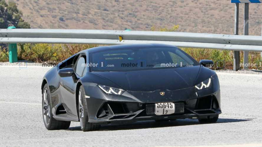 Lamborghini Huracan EVO Test Mule Spy Photos