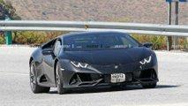 Lamborghini Huracan EVO test aracı casus fotoğraflar