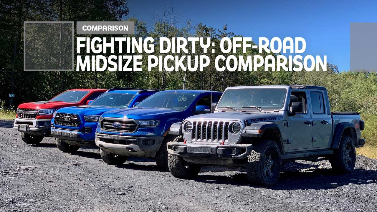 Fighting Dirty Comparing Ford Chevy Jeep And Toyota Trucks Off Road