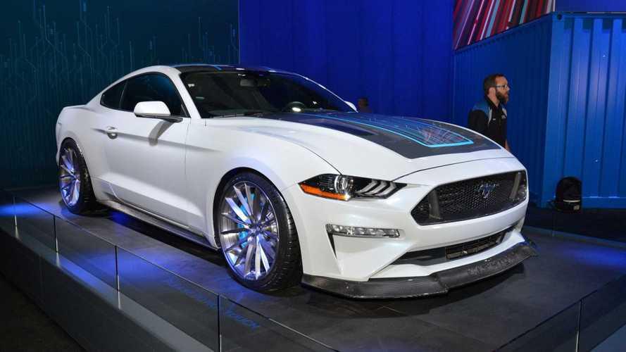 Ford Mustang Lithium At 2019 SEMA: Photos/Videos