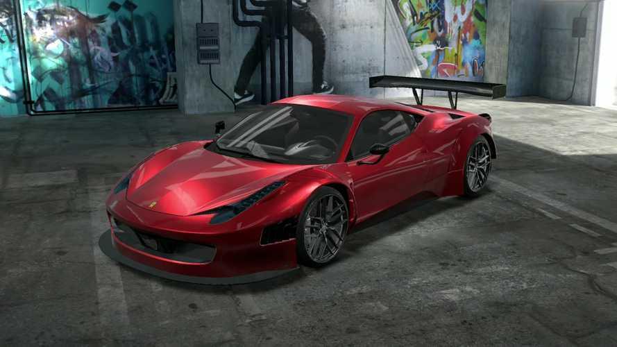Ilyen a Ferrari 458 Italia tuningolása az NFS Heatben