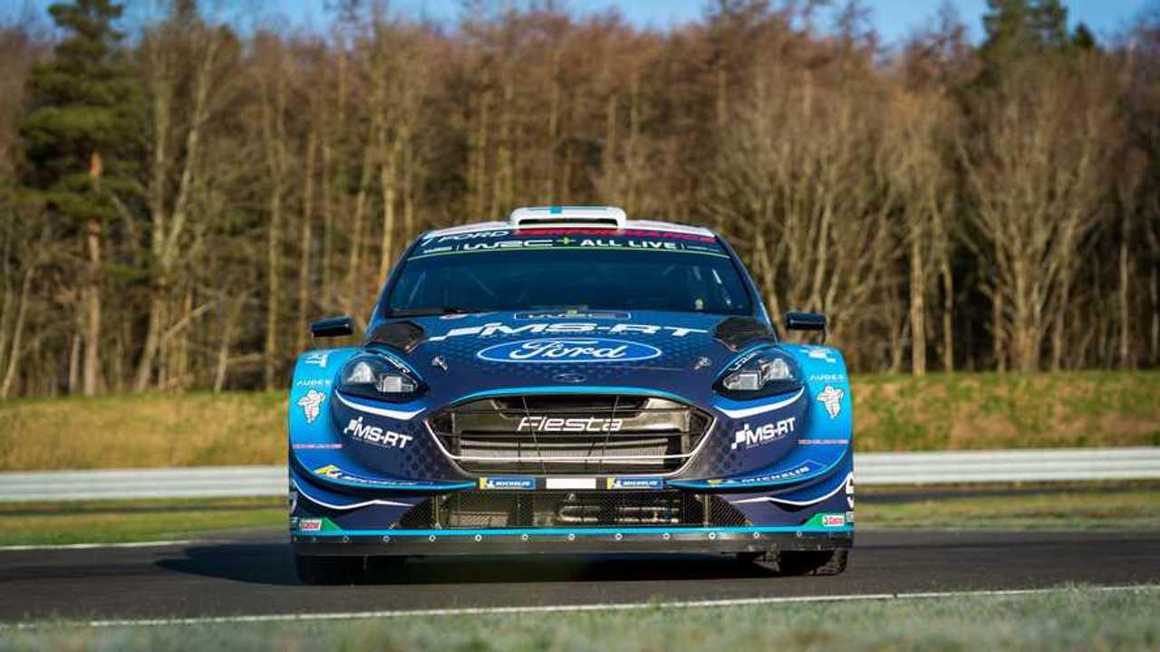 Ford Fiesta WRC, la produzione