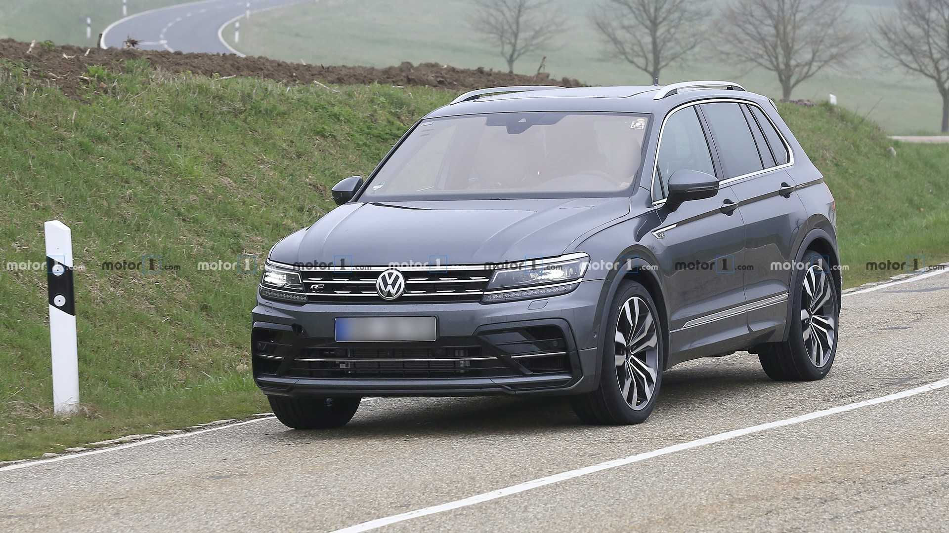 2021 VW Tiguan R-Line – Release Date, Price And Photos >> Vw Tiguan R Hot Crossover Spied As R Line With Quad Exhausts