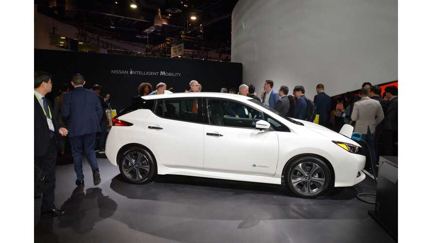 Redline Reviews Checks Out Nissan LEAF e+ At CES: Video
