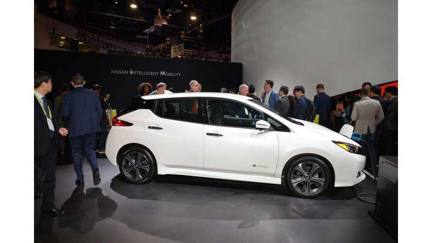 Redline Reviews Checks Out Nissan LEAF e+ At CES: Video
