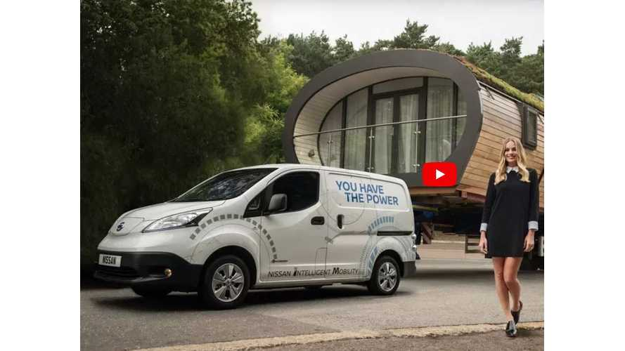 Nissan e-NV200 Sets Electric Towing Record With Epic Pull - Video