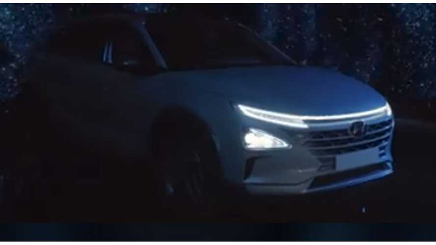 Hyundai Teases Next-Gen Fuel Cell Vehicle - Video