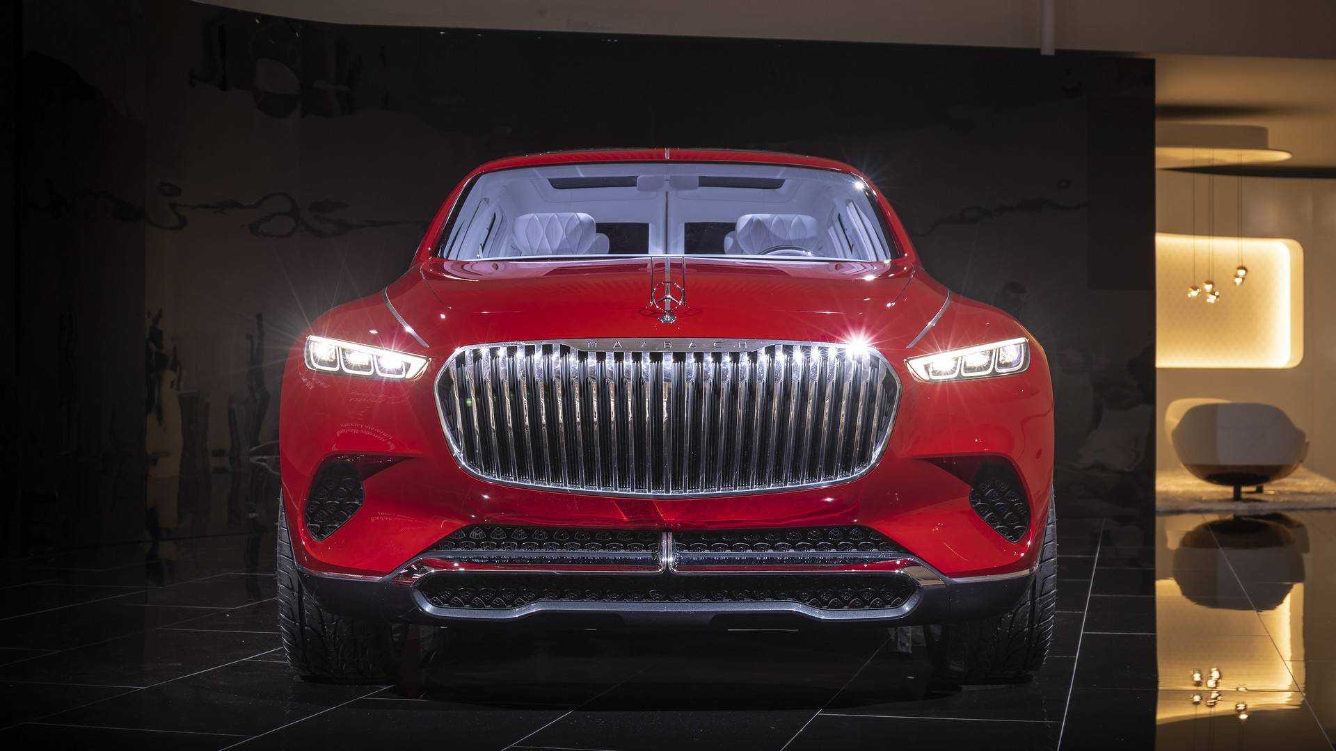 Maybach Vision Ultimate Luxury Suv Concept Bows In China