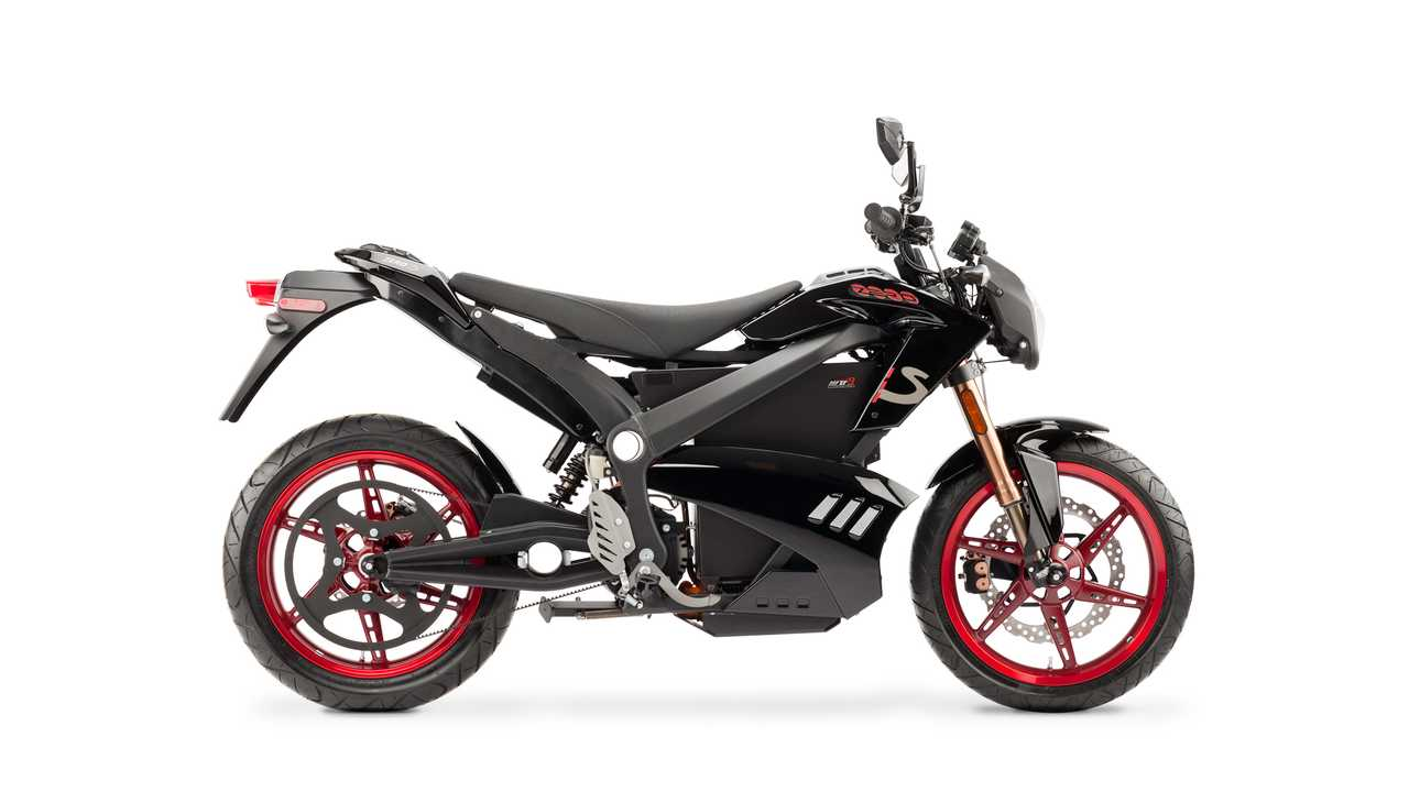 Zero S Electric Motorcycle Burns Rubber - Video