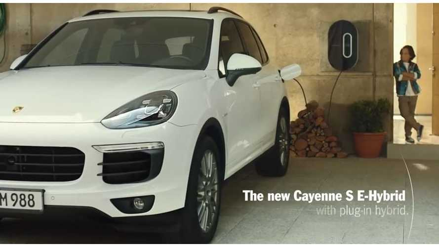 Refueling Porsche Cayenne S E-Hybrid Is Child's Play - Video